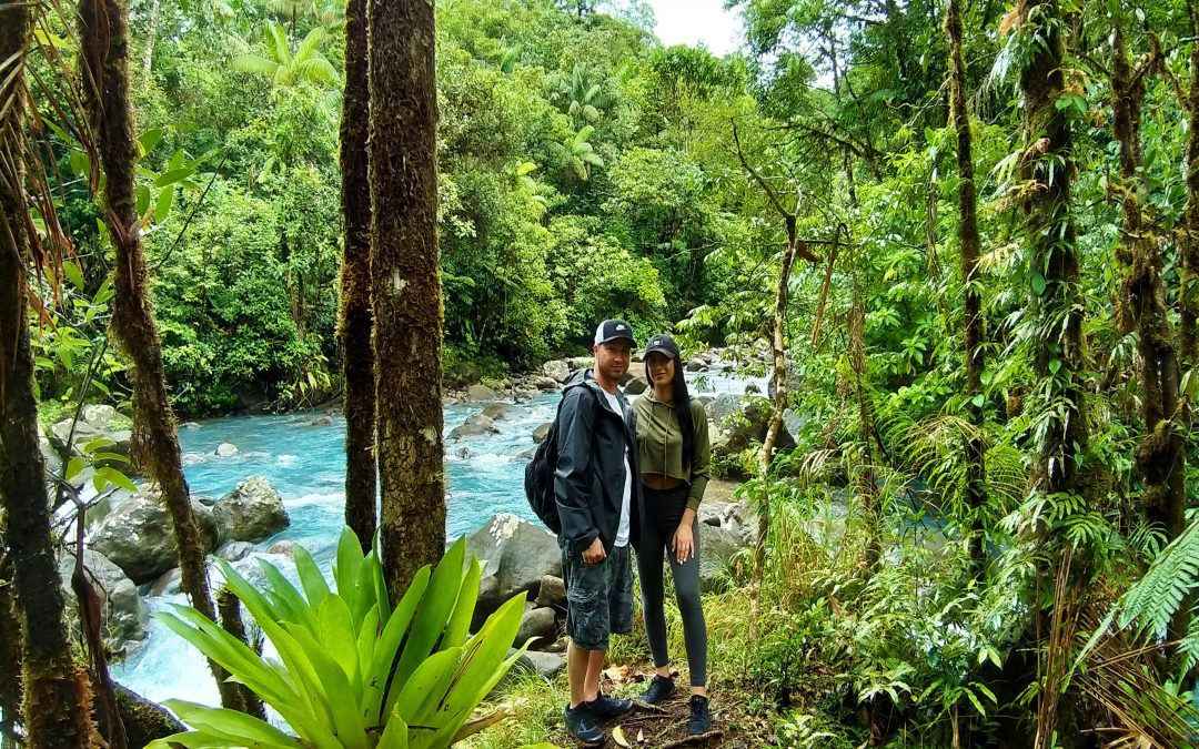 4 in 1 Rain forest, blue river, volcano mud baths, hot springs tour