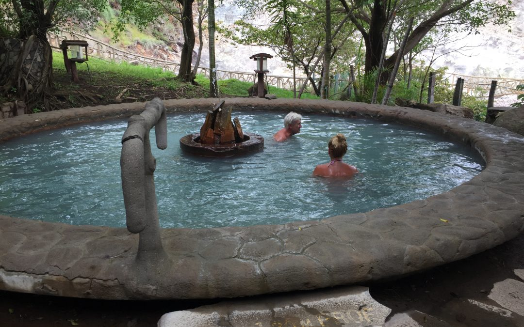 3 in 1 Volcano mud baths, hot springs & river floating tour